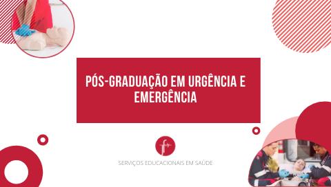 Turma 04 Pós-Graduação em Urgência e Emergência (do Pré ao Intra-Hospitalar)